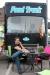 Koldo en la terraza de El Perrito Callejero, su Food Truck